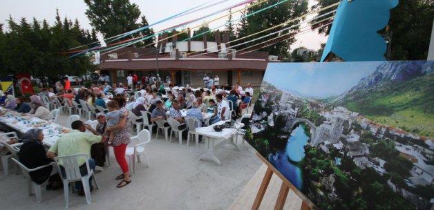 Diyanet'ten Bosnalı selzedelere iftar