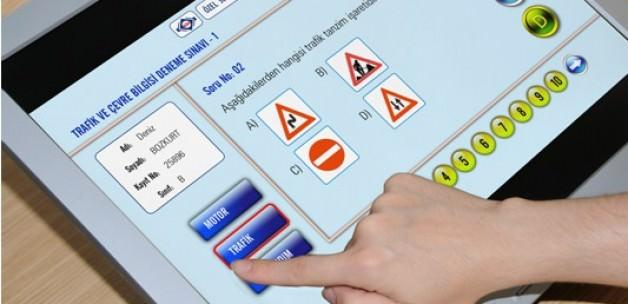 Ehliyet sınavı sonuçları forklift B sınıfı ehliyet