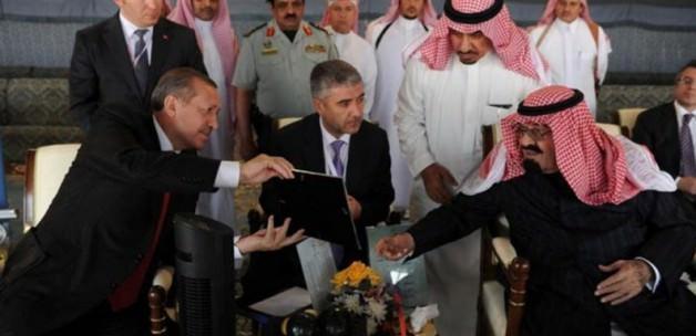 Erdoğan'dan Kral Abdullah için taziye