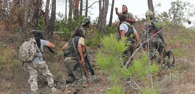 Esed Türkmenlere 'napalm' bombası attı