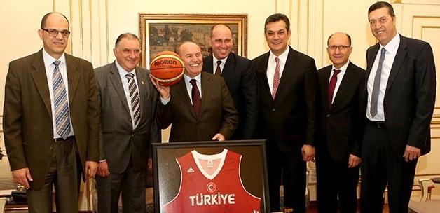 FIBA'dan Kadir Topbaş'a ziyaret