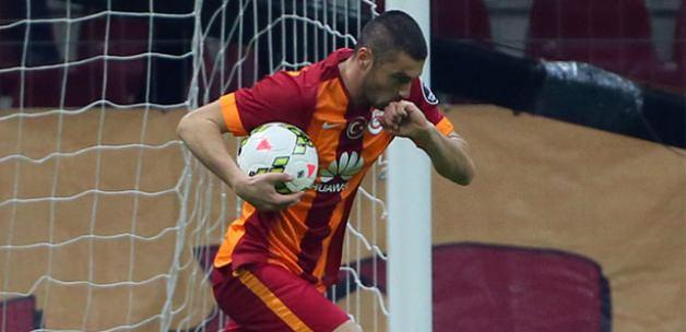 Galatasaray'ın golünde ofsayt tartışması