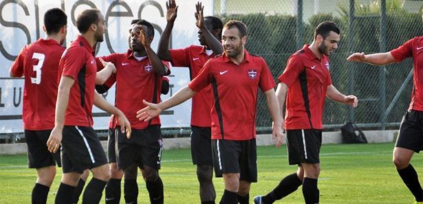Gaziantepspor topa tuttu: 5-0