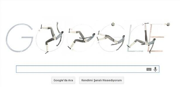 Leonidas da Silva için Google'den doodle