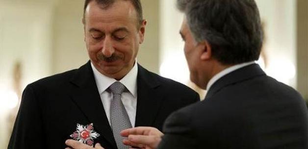 Gül'den, Aliyev'e devlet nişanı!