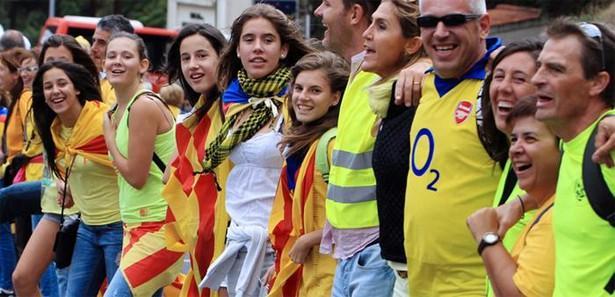 İspanya, 'insan zinciri' eylemini tartışılıyor