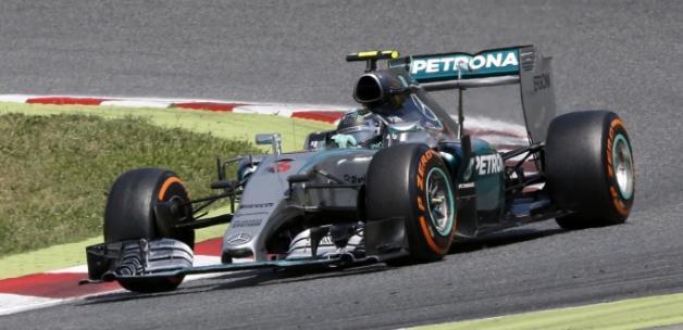 İspanya'da zafer Rosberg'in!
