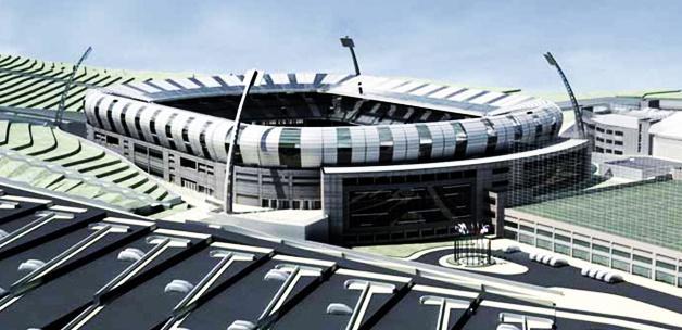 İstanbul'un orta yerinde yükselen stadyum!