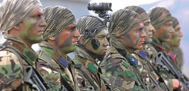 İşte operasyona katılan asker sayısı