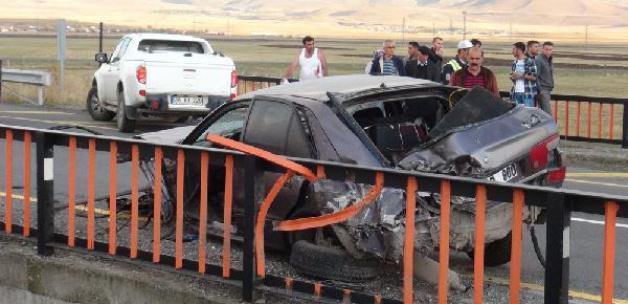 Kars'ta kaza: 1 ölü, 2 yaralı
