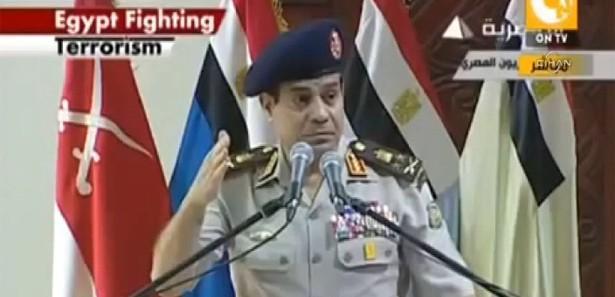 Katliamcı General Sisi'den inanılmaz gaf