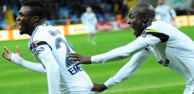 Kayseri'de Emenike'den altın gol