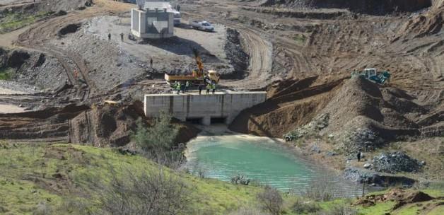 KKTC Su Temin Projesi'nde su tutulmaya başlandı