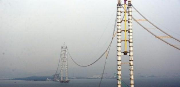 Körfez köprüsünde bir kablo koptu