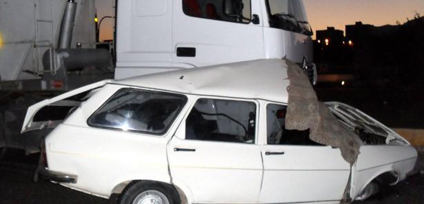 Kütahya Gediz'de trafik kazası: 1 ölü