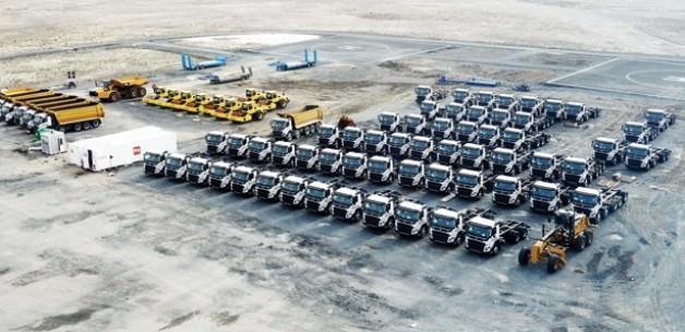2 bin kamyonla 3 ayda Atatürk Barajı kadar dolgu