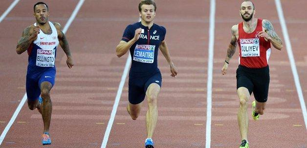 Milli atlet rekorla finale yükseldi