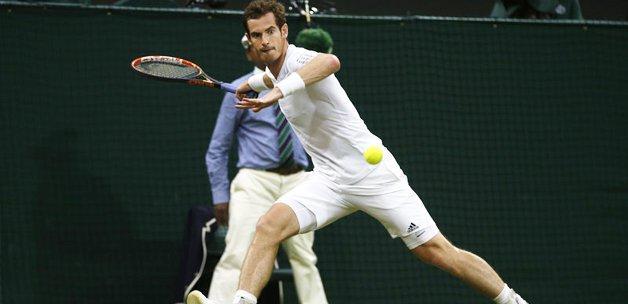 Murray set vermeden çeyrek finale uzandı