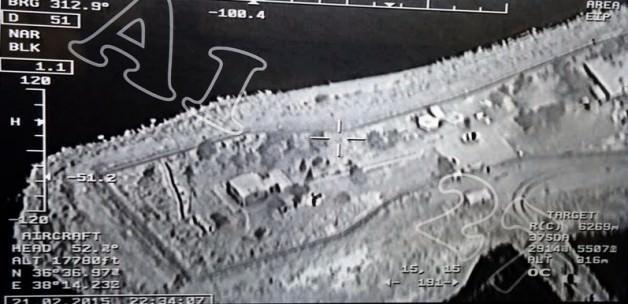 Operasyon havadan böyle görüntülendi