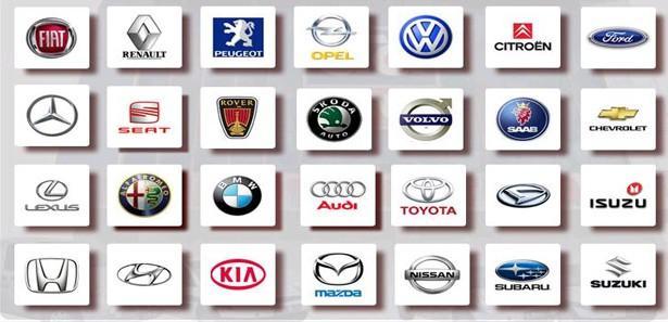 Logoları En çok Tıklanan Otomobil Markaları Otomobil Haberleri