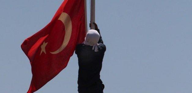 Pascal Nouma'dan Türk bayraklı tepki