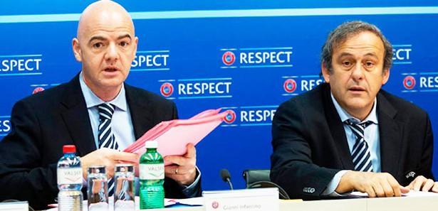 UEFA çatırdıyor! Şimdi de Infantino...