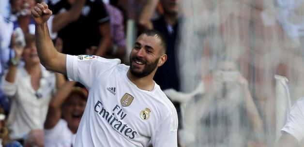 Real Madrid Benzema'yla güldü