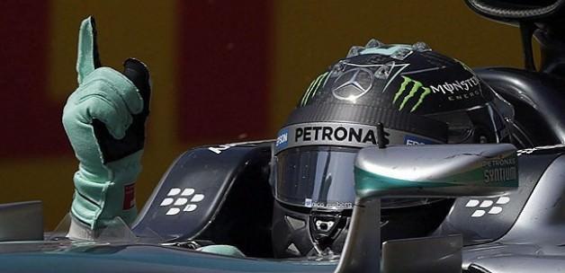 Rosberg sezonun ilk galibiyetini aldı