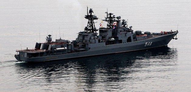 Rusya, Kırım Deniz Üssü'nü aktif hale getirdi