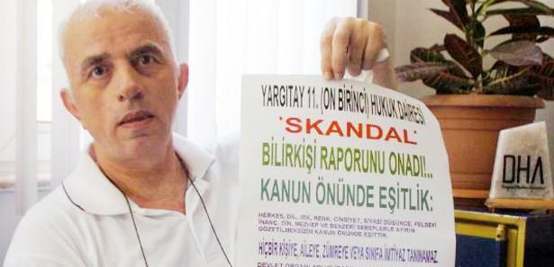 Hasan Sancak noter onaylı rüya mücadelesinde hak aramaya devam ediyor