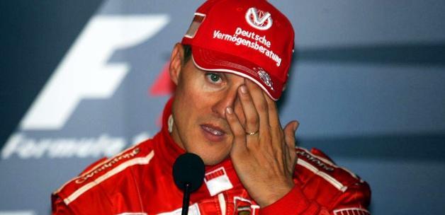 Michael Schumacher'den kötü haber! Eriyor...