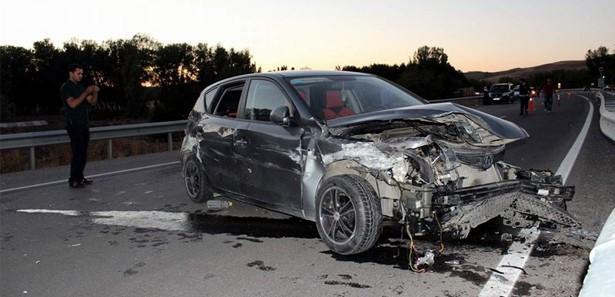 Düzce'de trafik kazası: 4 yaralı