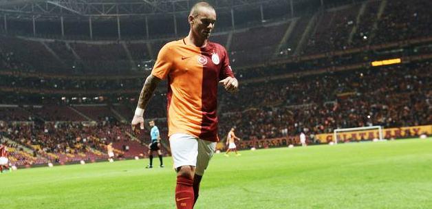Sneijder: Sözleşmemin bitiyor olması...