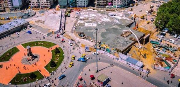 İBB: Taksim'de ağaçlar kesilmiyor