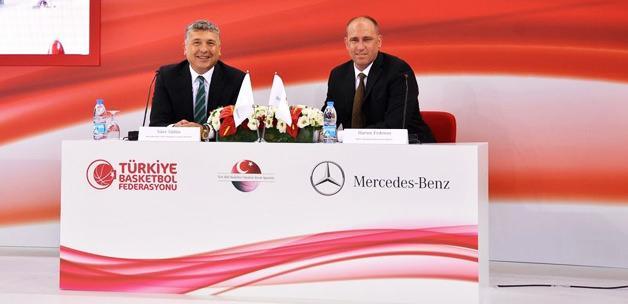 TBF ile Mercedes arasında 3 yıllık anlaşma!