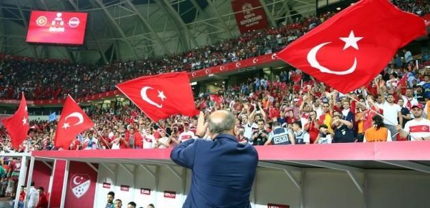 TFF'den Konya'daki taraftara teşekkür