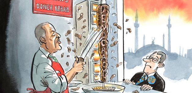 The Economist'ten skandal karikatür!