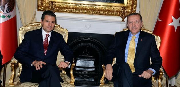 Türkiye ile Meksika arasında stratejik ortaklık