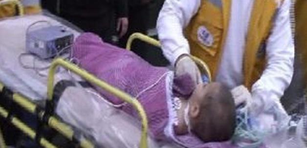 Vida yutan bebek öldü
