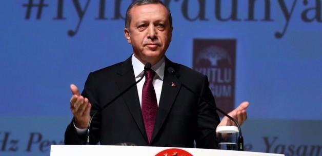 Cumhurbaşkanı Erdoğan'dan kutlama