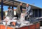 Araban'da ihtiyaç sahiplerine kömür yardımı