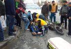 Tekirdağ'da motosikletle ambulans çarpıştı: 1 yaralı