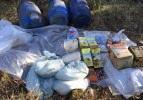 Hatay'da terör örgütüne ait depo bulundu