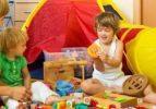 Çocukların dili oyun oynarken çözülüyor