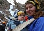 Rus dağcıdan Erzurum'daki buz şelalelerine tırmanış