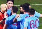 Trabzonspor maçında hakem rezaleti!