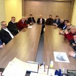 Karabük Belediye Başkanı Vergili'ye ziyaretler