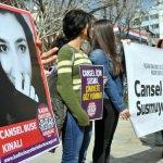 """Muğla'da """"kadın cinayetleri"""" protesto edildi"""
