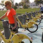 """İSPARK'ın """"Akıllı Bisiklet Uygulaması"""" Florya'da"""