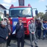 Hamamözü'nde belediyenin aldığı araçlar törenle hizmete girdi